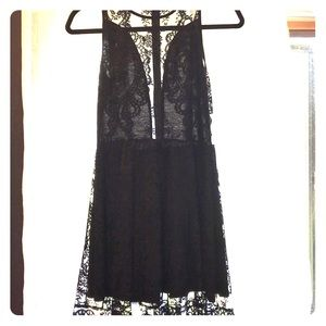 For Love and Lemons beautiful & sultry black dress